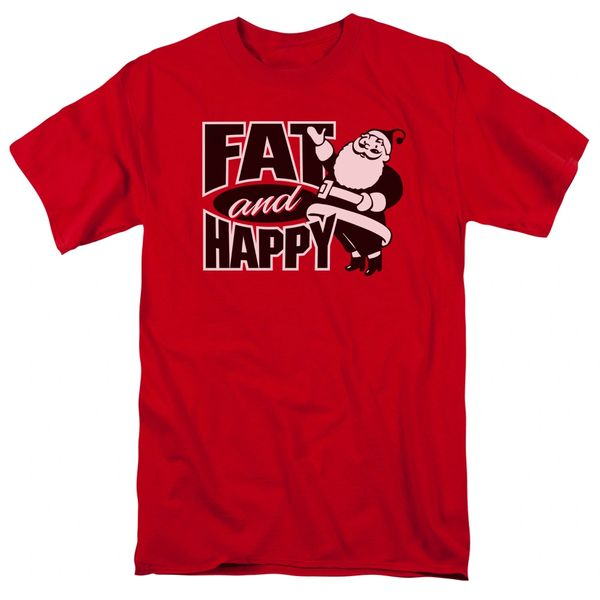 Christmas Fat and Happy T-shirt