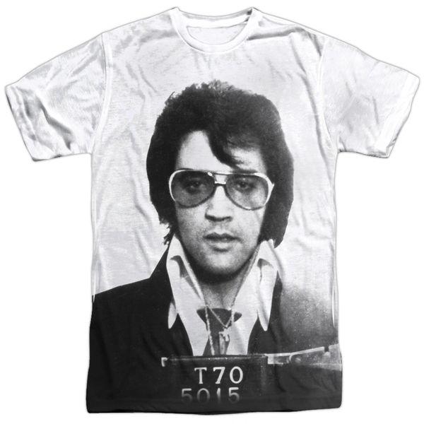 Elvis Presley Mugshot T-shirt