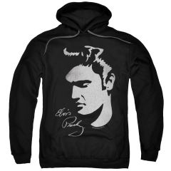 Elvis Presley Simple Face Pull-Over Hoodie