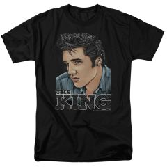 Elvis Presley Graphic King T-shirt