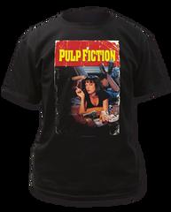 Pulp Fiction Pulp Fiction Black Short Sleeve Adult T-shirt