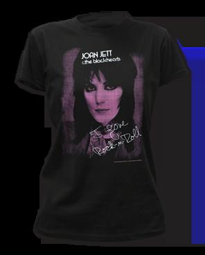 Joan Jett Joan Black Short Sleeve Women's T-shirt