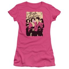 Grease Pink Ladies Junior T-shirt