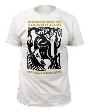 Siouxsie and the Banshees Spellbound White Short Sleeve Adult T-shirt