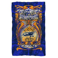 Jefferson Airplane Monterey Pop Fleece Blanket