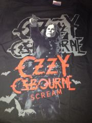 Ozzy Osbourne Crucify Black Short Sleeve Adult T-shirt
