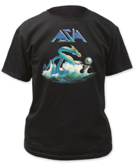 Asia Leviathan Black Cotton Short Sleeve Adult T-shirt