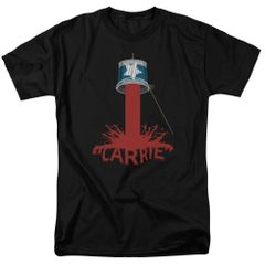 Carrie Bucket of Blood Black Short Sleeve Adult T-shirt