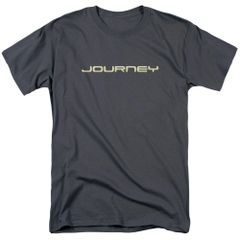 Journey Logo Charcoal 100% Cotton Short Sleeve Adult T-shirt