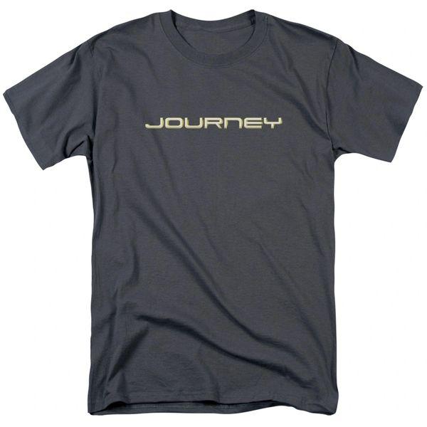Journey Logo Charcoal 100% Cotton Short Sleeve Adult T-shirt