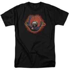 Journey Infinity Cover Black 100% Cotton Short Sleeve Adult T-shirt