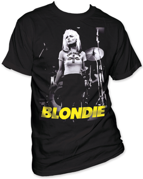 Blondie Funtime Black Cotton Short Sleeve Adult T-shirt