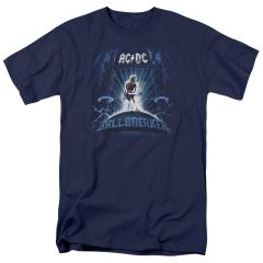 AC/DC Ballbreaker Navy Short Sleeve Adult T-shirt