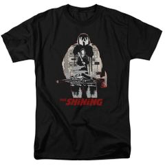 The Shining Come Out Come Out Black Adult Short Sleeve T-shirt
