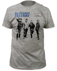 The Buzzcocks The Way Heather Grey Cotton Short Sleeve Adult T-shirt