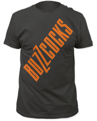 The Buzzcocks Buzzcocks Charcoal Cotton Short Sleeve Adult T-shirt
