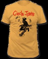 Circle Jerks Skank Man Ginger Cotton Short Sleeve Adult T-shirt