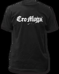 Cro-mags Logo Black Short Sleeve Adult T-shirt