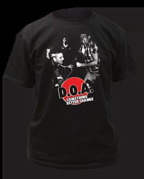 DOA Something Better Change Black Cotton Short Sleeve Adult T-shirt