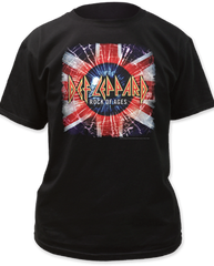 Def Leppard Rock of Ages Black Cotton Short Sleeve Adult T-shirt