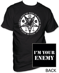 GG Allin War in My Head Adult T-shirt