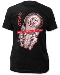 Devo De-Evolution Black Short Sleeve Adult T-shirt