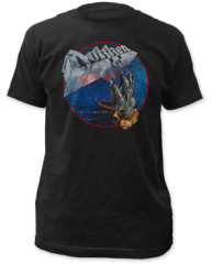 Dokken Tooth and Nail Black Short Sleeve Adult T-shirt