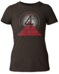 Foreigner Tour 81-82 Black Short Sleeve Junior T-shirt