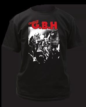 G.B.H. Live Photo Black Short Sleeve Adult T-shirt