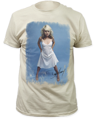 Debbie Harry White Dress White Short Sleeve Adult T-shirt
