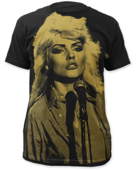 Debbie Harry Debbie Harry Black Sublimation Print Short Sleeve Adult T-shirt