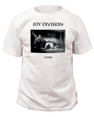Joy Division Closer White Short Sleeve Adult T-shirt