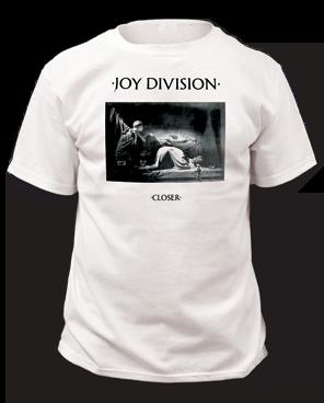 Joy Division Closer White Short Sleeve Adult T-shirt
