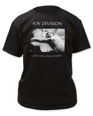 Joy Division Love Will Tear Us Apart Black Short Sleeve Adult T-shirt