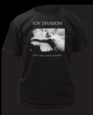 Joy Division Love Will Tear Us Apart Black Short Sleeve Adult T-shirt