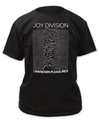 Joy Division Unknown Pleasures 2 Black Short Sleeve Adult T-shirt