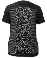Joy Division Unknown Pleasures Sublimation Print Short Sleeve Adult T-shirt