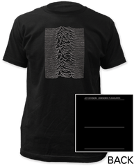 Joy Division Unknown Pleasures Black Short Sleeve Adult T-shirt