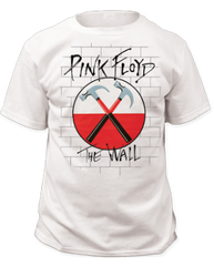 Pink Floyd The Wall Hammers White Short Sleeve Adult T-shirt