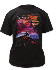 Pink Floyd Hammer March Black Short Sleeve Adult T-shirt