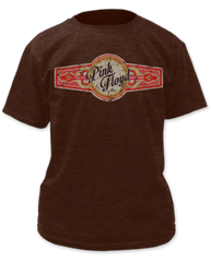 Pink Floyd Have a Cigar Russet Short Sleeve Adult T-shirt