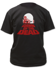 Dawn of the Dead Poster Black Short Sleeve Adult T-shirt