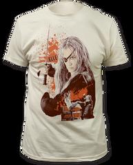 Kill Bill Elle Driver Vintage White Short Sleeve Adult T-shirt