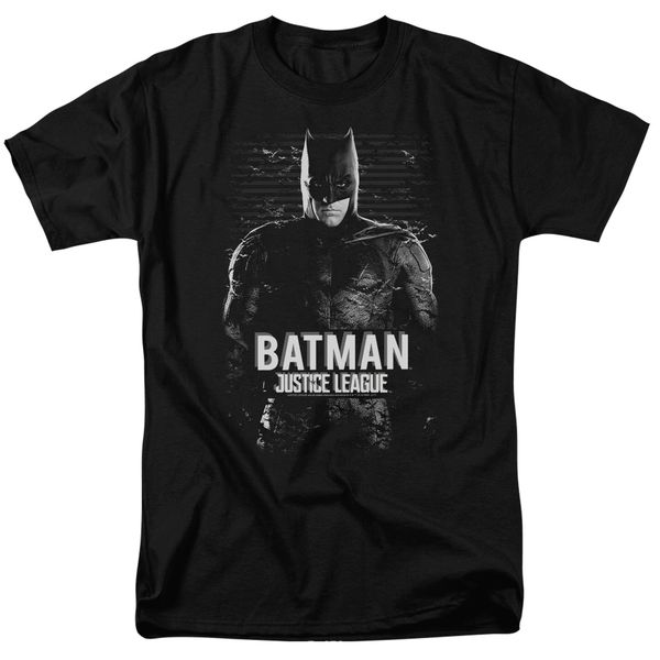 Justice League Batman Black Short Sleeve Adult T-shirt