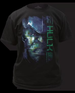 Thor Ragnarok Hulk Black Short Sleeve Adult T Shirt