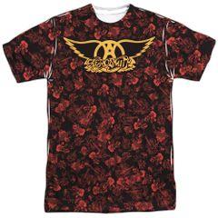 Aerosmith Vaction White Short Sleeve Adult T-shirt