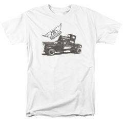 Aerosmith Pump White Short Sleeve Adult T-shirt