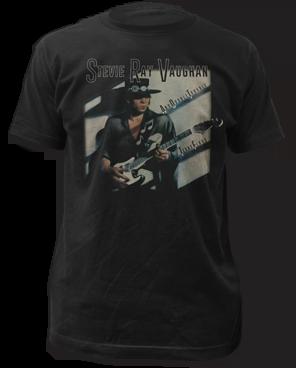 Stevie Ray Vaughan Texas Flood Short Sleeve Adult T-shirt