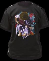Stevie Ray Vaughan In Step Black Short Sleeve Adult T-shirt