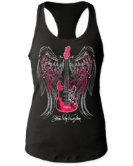 Stevie Ray Vaughan Wings Womens Tank Top T-shirt